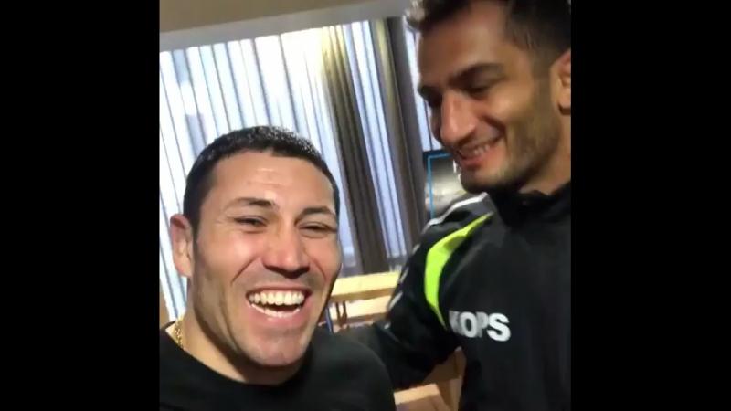 Gago Drago with Mousasi