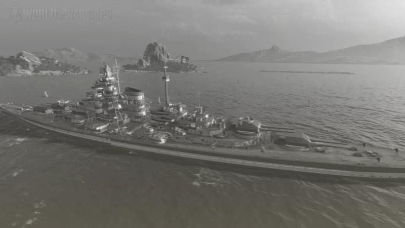 World of Warships   Cesta k Duke of York   bitva u severního mysu 3