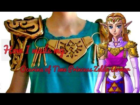♥♥How I made my Ocarina of Time Zelda Armor~Cosplay♥♥