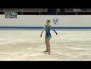 Александра Трусова . Мировой рекорд . Два четверных прыжка.