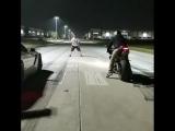 Procharged C7 Z06 vs Daytona 675 vs R1