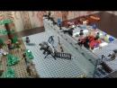 Обзор №32. Лего самоделка зомби апокалипсис Лагерь выживших.