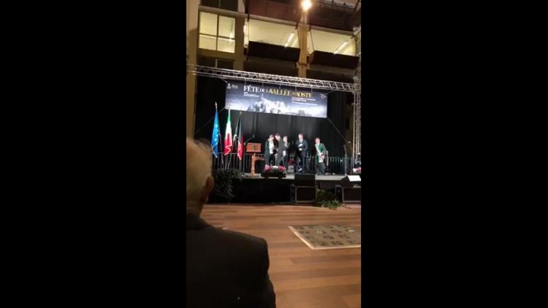 Премия от Valle d'Aosta