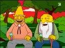 Der Meskalinrausch. Szene aus: Homer ist ein toller Hippie