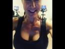 Brandi Love на тренировке