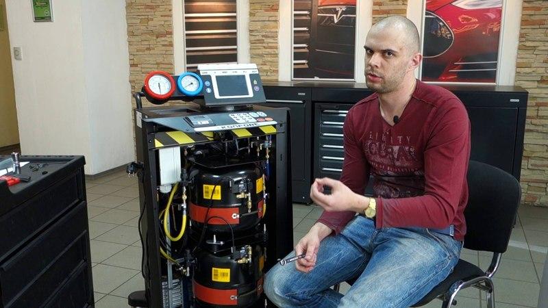 Ремонт TEXA Konfort 705R, 720R, 780R. Проверка клапанов