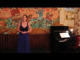 В.А. Моцарт Концертная ария Vado ma dove (исп. Наталья Лисицына)