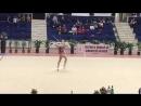 Полина Хонина Лента Irina Deleanu Cup 2018