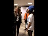 28.04.2018 • Джаред и Шеннон за кулисами СК Олимпийский