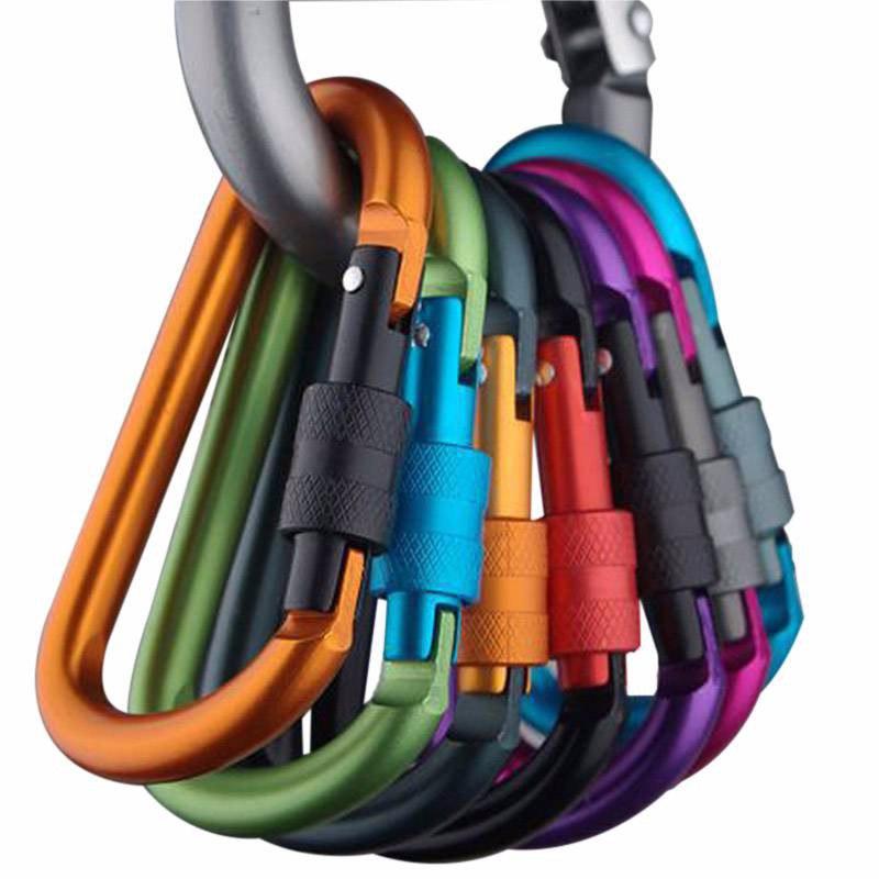 Разноцветные Карабинчики из Металла