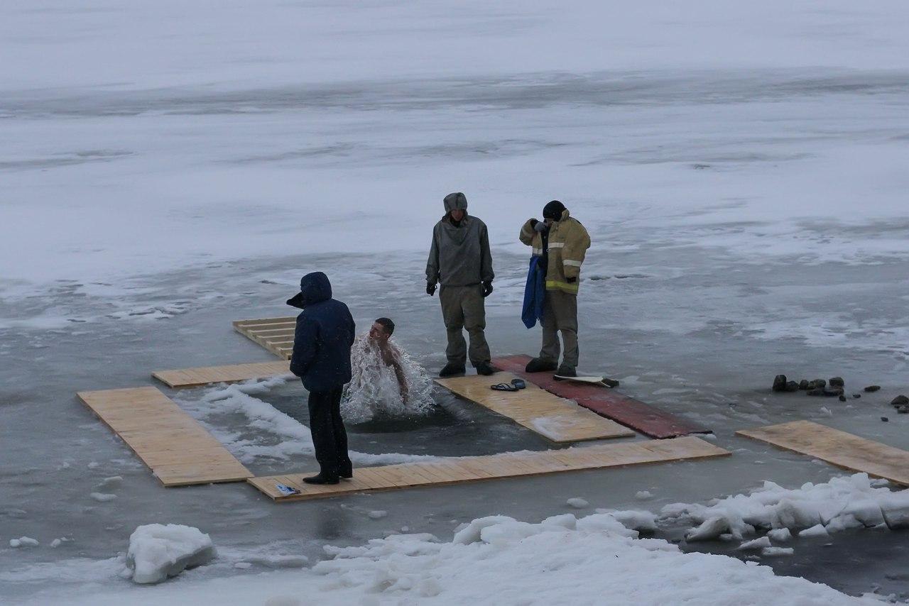 В Ростовской области Крещение прошло без происшествий