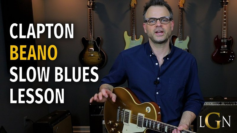 Bluesbreakers era Clapton Style Lesson