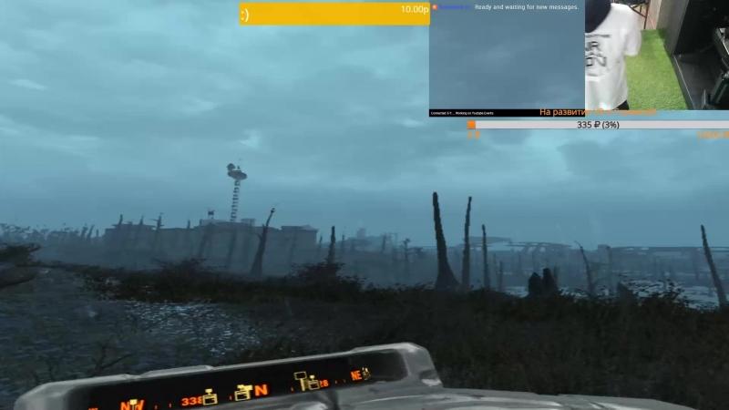Fallout 4 VR - Лаборант вступил в Братство Стали - Есс Сэр! Принести вам его голову?