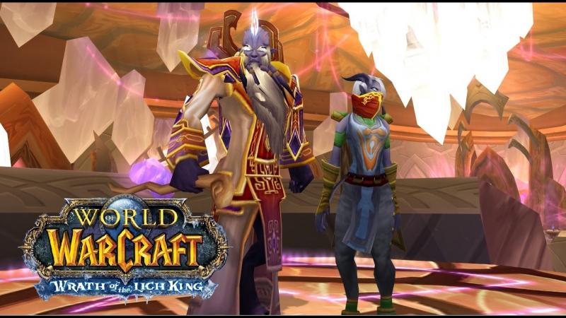 World of Warcraft Lich King 3.3.5 Isengard x2 прохождение за фрост мага 8 Порталы