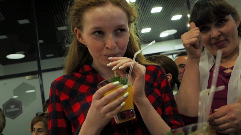 Запуск нового вкуса XS Power Drink в Центрах Амвэй