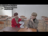 [RUS SUB][21.02.18] ZIP! BTS J-Hope & Jimin's High School Memories