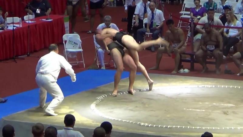 Сумо.Чемпионат мира по Сумо 2014 ( UKR vs. POL)