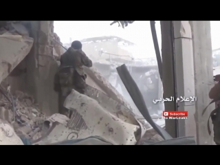 Штурм и зачистка в городе Забадани. САА и Хезболла против ССА