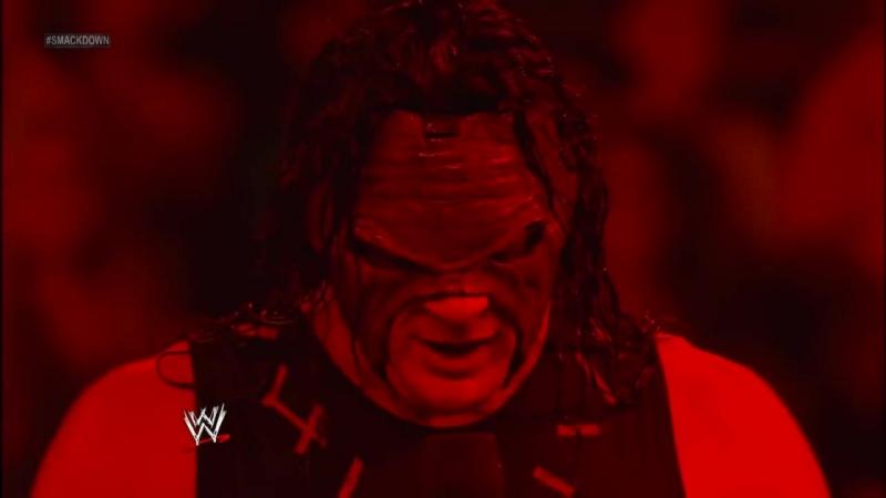 Kane interrupts Alberto Del Rio 2013