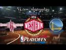 Houston Rockets vs Golden State Warriors | 22.05.2018 | West | Final | Game 4 | NBA Playoffs 2018 | Виасат | Viasat Sport HD RU