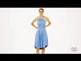 How to Tie the Infinity Dress