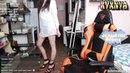 TWITCH GIRL FAILS 69 Контент Засветила трусы Йога