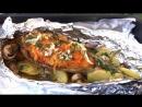 Скумбрия в Духовке и Вкусный Обед Готов Roasted Mackerel with Vegetables