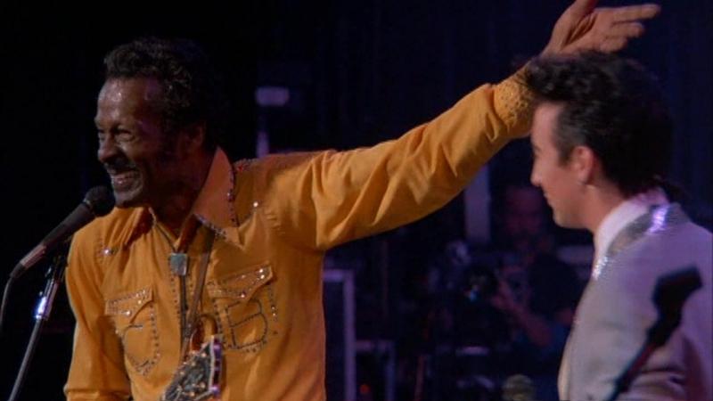 Chuck Berry John Julian Lennon Johnny Be Good '9 Jam feat Keith Richards