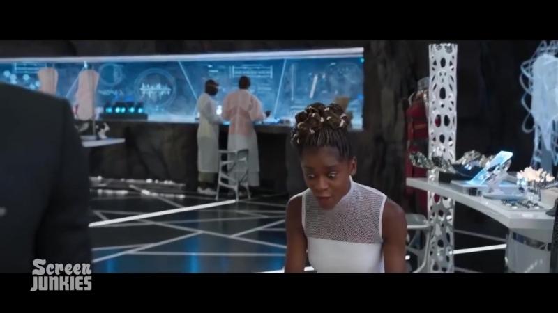 [Pete Glanz] Честный трейлер — «Чёрная Пантера» / Honest Trailers - Black Panther [rus]
