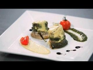 Рулеты из сибаса с сушеными (вялеными) помидорами - рецепт Уриэля Штерна