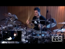 Illogicist Hypnotized by Riccardo Merlini Drum cam Technical Progressive Death Metal