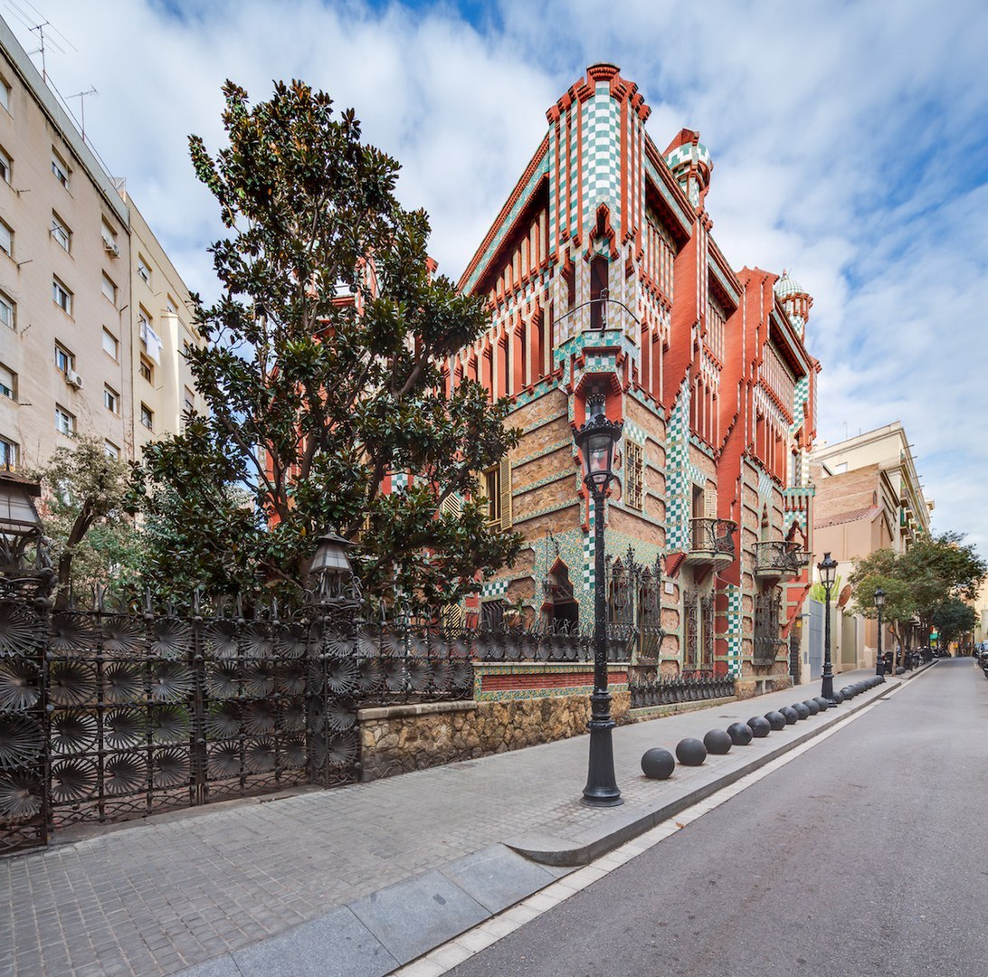 Stunning Gaudi's First Built House in Barcelona