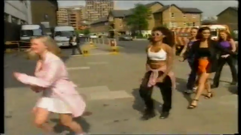 Spice Girls At GTMV Studios - GMTV Report 20.06.1996