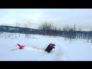 Рожей в снег :333