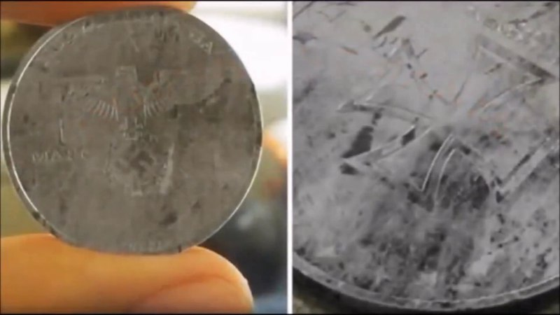 Nazi coin from future FOUND – A coin discovered from a parallel universe found in our timeline