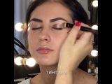 Вечерний макияж с пигментами !