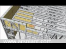 Технология ЛСТК пошагово в 3D