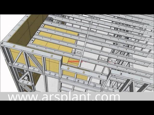 Технология ЛСТК пошагово в 3D » Freewka.com - Смотреть онлайн в хорощем качестве