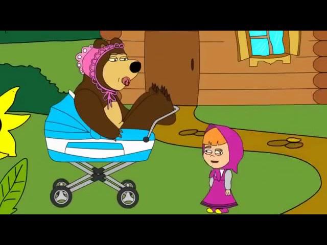 Маша и Медведь(гоблинский перевод!)