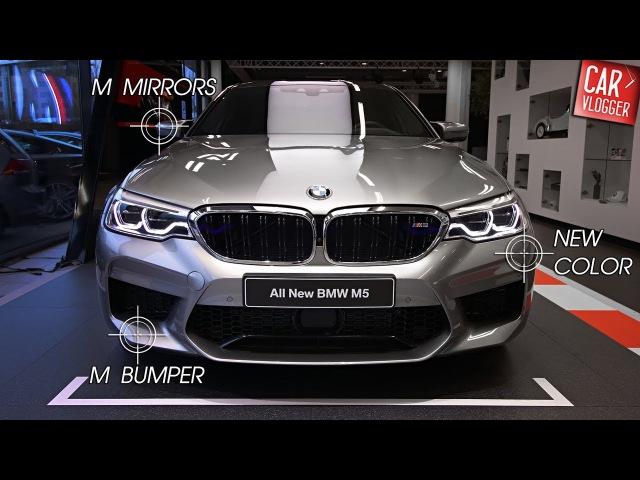 INSIDE the NEW BMW M5 2018 Interior Exterior DETAILS w REVS
