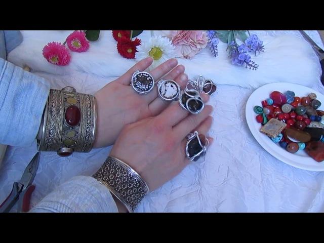 Как сделать кольцо своими руками . how to make a ring with your own hands
