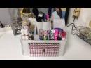 Organizador De Maquillaje reciclando una caja de zapatos 👠
