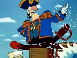 Остров сокровищ (мультфильм). Пушка. Они Заряжают Пушку