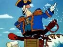 Остров сокровищ мультфильм Пушка Они Заряжают Пушку