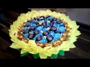 Букет из конфет Подсолнух