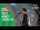 I Bet You Look Good on the Dancefloor - Arctic Monkeys live @London 2012 Music Monday