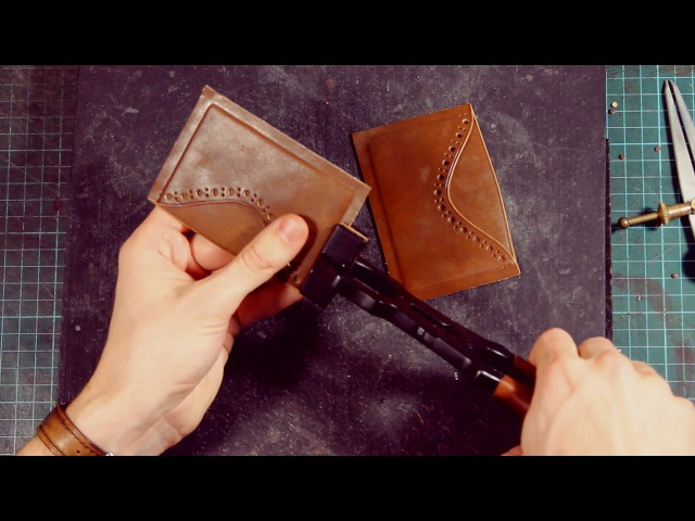Finsky.me - Making Avancropo leather cardholder