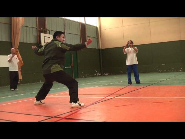 MengCun Bajiquan Xiao Jia YiLu - Wu DaWei - slow motion