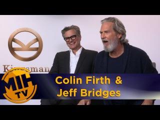 Colin Firth & Jeff Bridges Kingsman: Golden Circle Interview