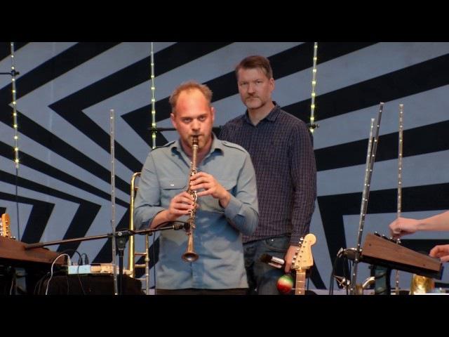 Jaga Jazzist and AfrotroniX at Millennium Park (6.26.17)